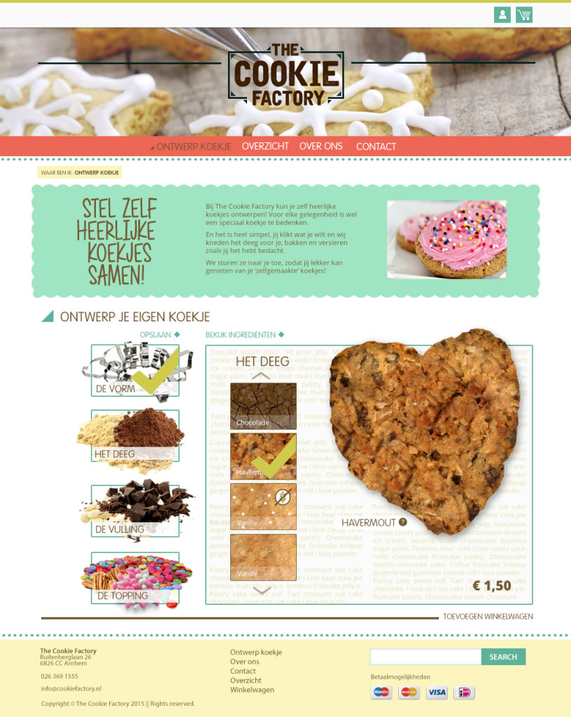 homepage-Cookie Factory
