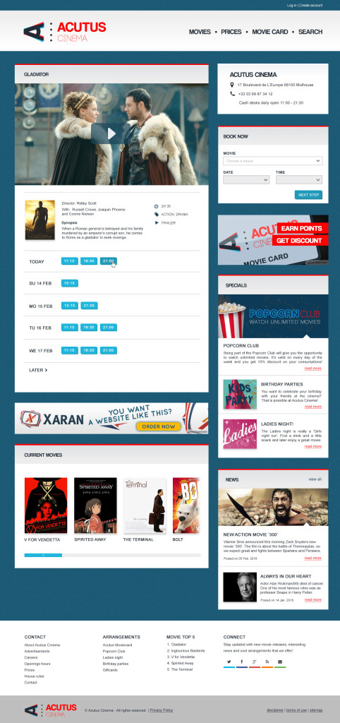 movie-cinema-webdesign